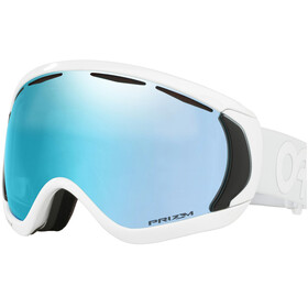 Oakley Canopy Lunettes de ski, white/w prizm sapphire iridium